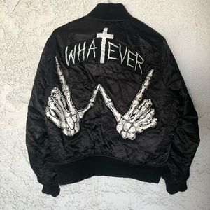 Unif Whatever ✝️Bomber Jacket